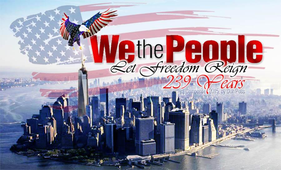 Happy 239th Birthday America! 4th July 2015.