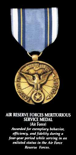 Air Reserve Forces Meritorious Service Award