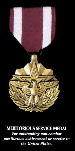 Meritorious Service Medal was established by Executive Order 11448 on Jan.