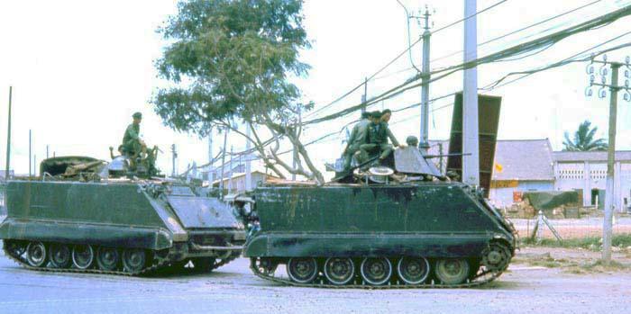 ARVN Can Tho, M113 APCs, Summerfield: 04