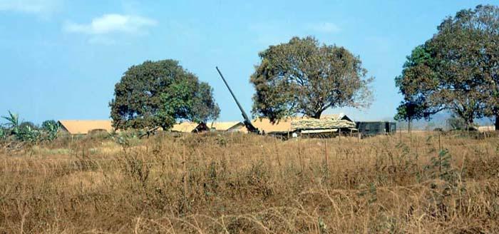 Binh Ba, Artillery Howitzer. MSgt Summerfield, 1969: 02