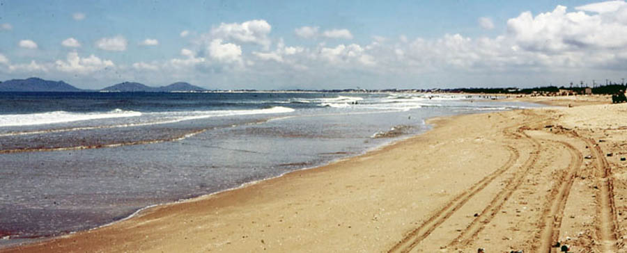 Bien Thuy, beautiful day at the beach. MSgt Summerfield 1969: 12
