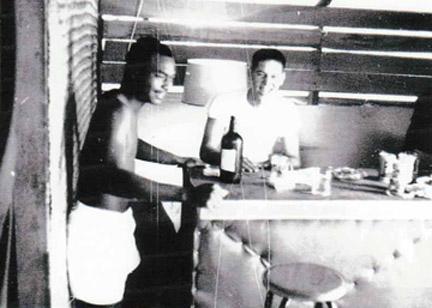 SSgt Hoy and Airman John Wilson.