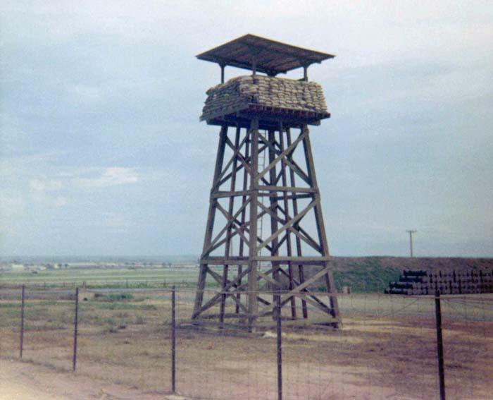 3. Bien Hoa AB, Ammo Dump Tower. Photo by: Ernest Govea. 1968-1969.