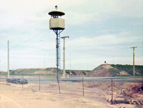 2a. Bien Hoa AB, Ammo Dump Tower. Photo by: Ernest Govea. 1968-1969.