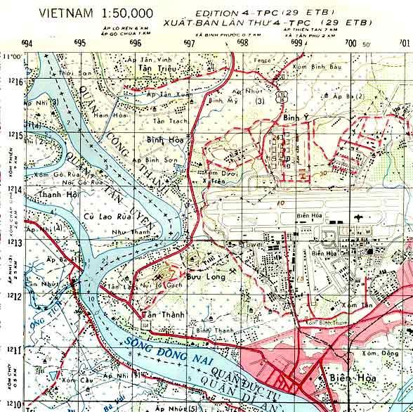 Bien Hoa AB Base Map