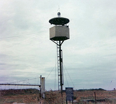 Bomb Dump Tower: Able-10. Bien Hoa AB Photos, 1971, by Donald L. Hooper