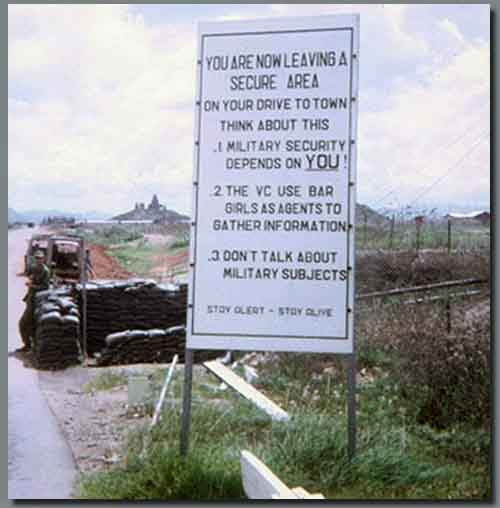 Ban Me Thuot Gate Sign Warning