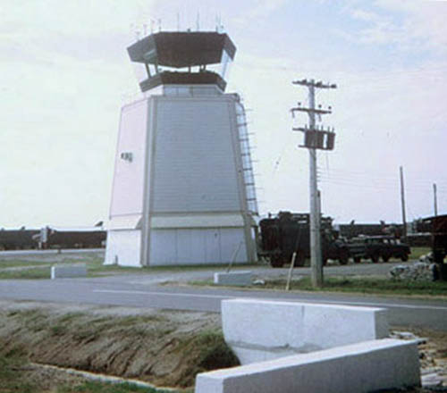 3. Ban Me Thuot, Coryell Air Field. PR Control Tower. 1968. Photo by: Barry A. McClean, LM 69, TK, 355th SPS; BMT, PR, TUY, 822nd CSPS. 1967-1969.