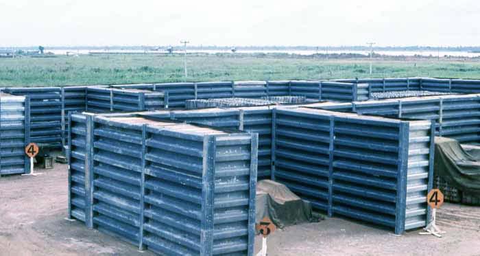 Bien Thuy Air Base flight line storage revetments. MSgt Summerfield: 15