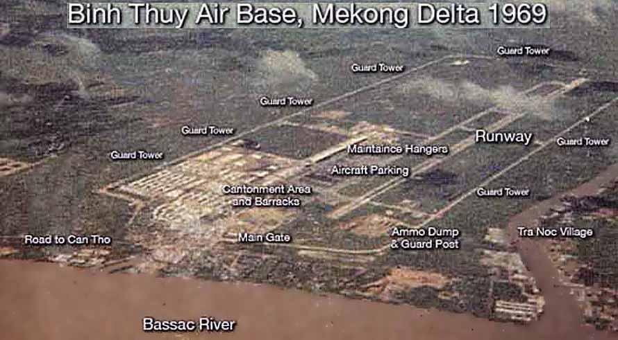 Bien Thuy Air Base, Perimeter, and Mekong Delta. MSgt Summerfield, 1969: 02