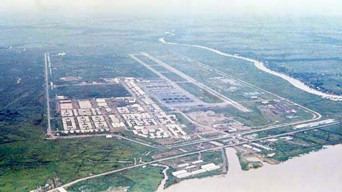 Bien Thuy Air Base, Mekong Delta-8 tower, south-west view. MSgt Summerfield, 1968: 03
