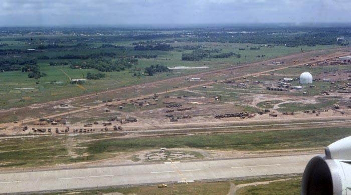 Bien Thuy Air Base, Radar. MSgt Summerfield, 1968: 08