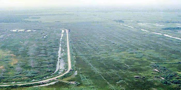 Bien Thuy Air Base, Mekong Delta-2 tower, perimeter towers and bunkers. MSgt Summerfield: 10