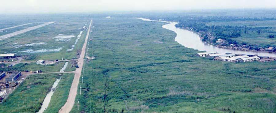 Bien Thuy Air Base, Mekong Delta-5 tower and perimeter bunkers. MSgt Summerfield: 11