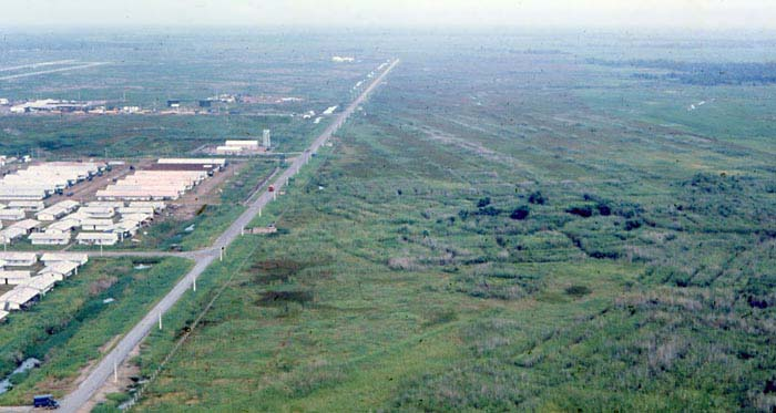 Bien Thuy Air Base, Mekong Delta-4 tower and perimeter bunker. MSgt Summerfield: 13