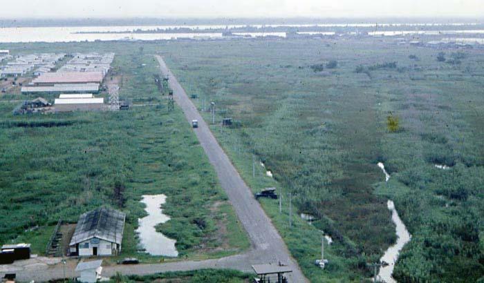 Bien Thuy Air Base, Mekong Delta-3 tower and perimeter bunker. MSgt Summerfield: 15