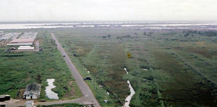 Bien Thuy Air Base, Mekong Delta-3 tower and perimeter bunker. MSgt Summerfield: 14