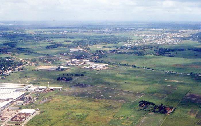 Bien Thuy Air Base, aerial-scenic. MSgt Summerfield, 1968: 19