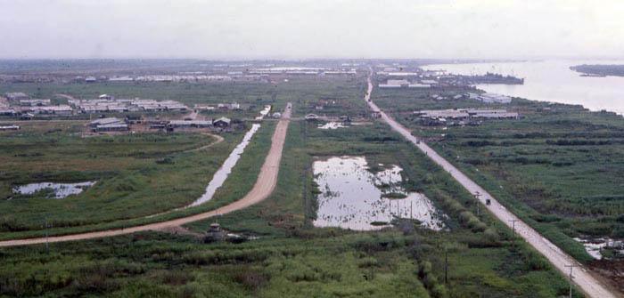 Bien Thuy Air Base, North perimeter. MSgt Summerfield, 1968: 21