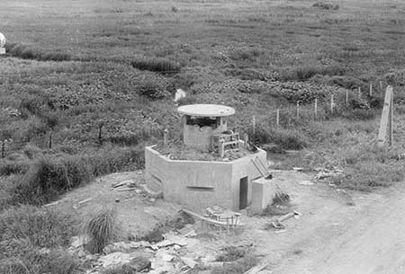 6. Binh Thuy AB: Tower view, of Bunkers. Photo by: unknown.
