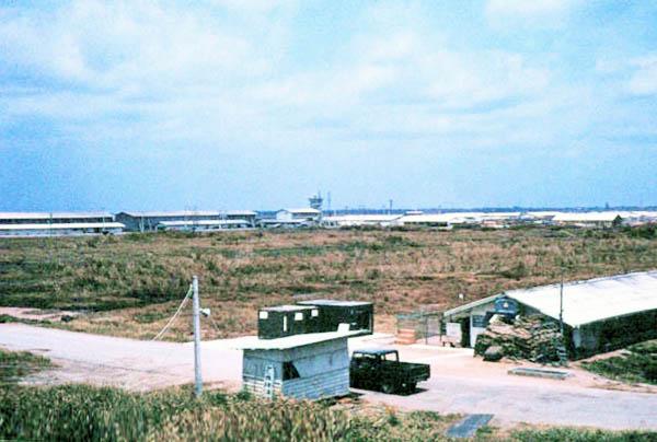 017: Binh Thuy AB, Gate. Photo by: Dr. Mel Hecker, 1968
