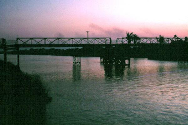 020: Binh Thuy AB, Bridge. Photo by: Dr. Mel Hecker, 1968