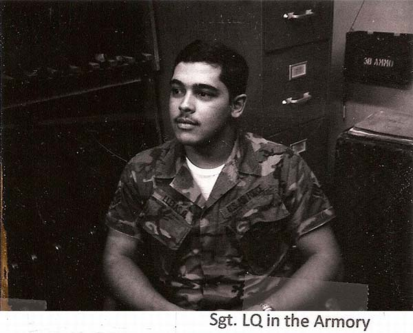 3. BT AB:Jaime in the Armory. Photo by Jaime Lleras. 1970.