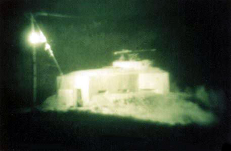 8. Binh Thuy AB: Bunker with .50 cal. (Starlite scope). 1967-1968. Photo by: Anthony Ralston, LM 31, BT, 632nd SPS, 1967-1968.