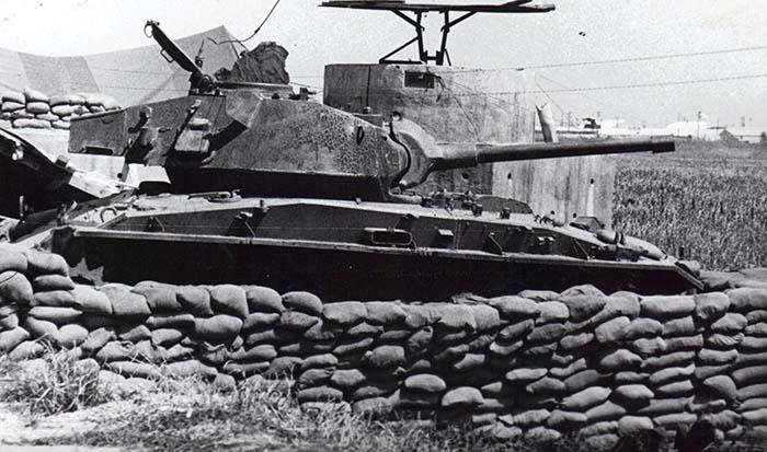 7. Binh Thuy AB, SPS bunker. Tank. 1970-1971.