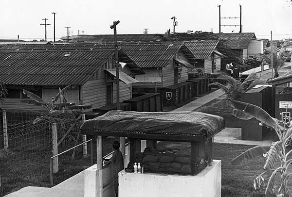 5. Binh Thuy AB, SPS Hootch access control post. 1970-1971.