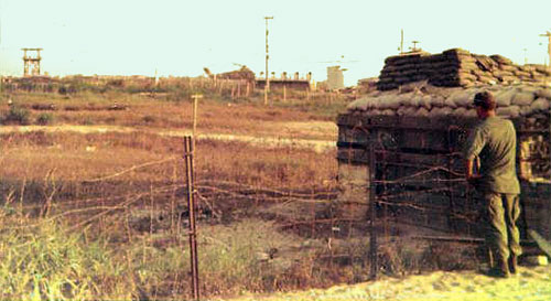 15. Front gate bunker at Binh-Thuy 1968.