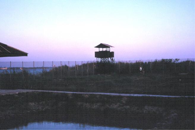 4. Binh Thuy AB: Perimeter Tower. 1968. Photo by: Mel Hecker, LM 72, DN, 366th SPS; DET CB; DH, 1/620th TCS; BT, 632nd SPS. 1967-1969.