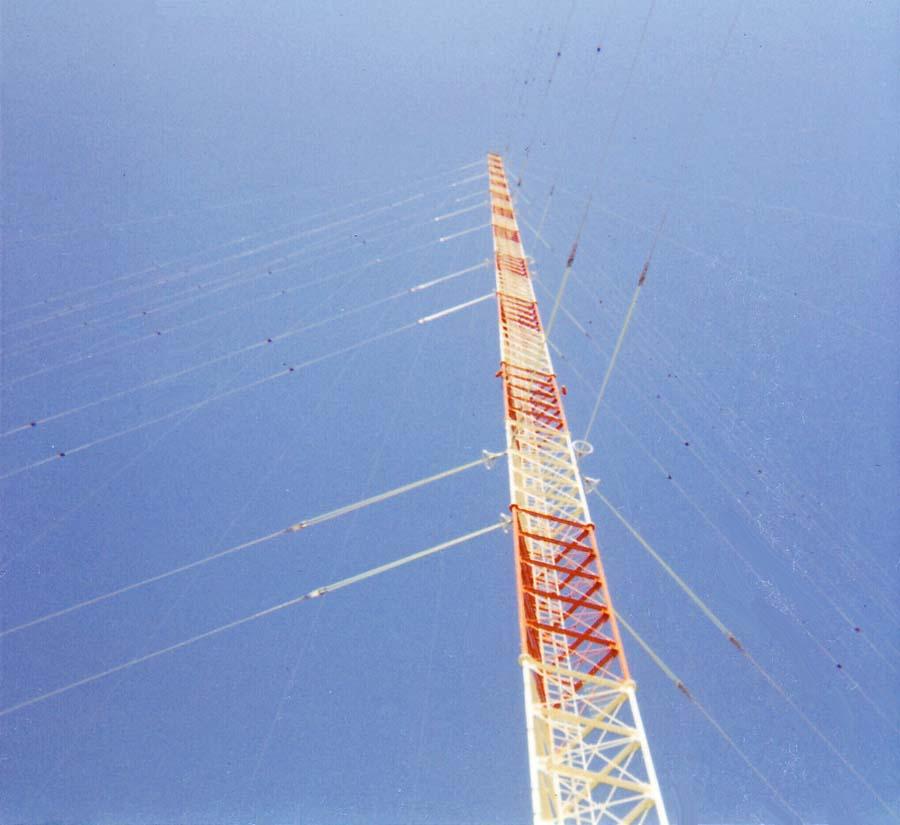 Camp Carroll, 60 foot tall USAF  Radar/Transmitter Radio Tower.