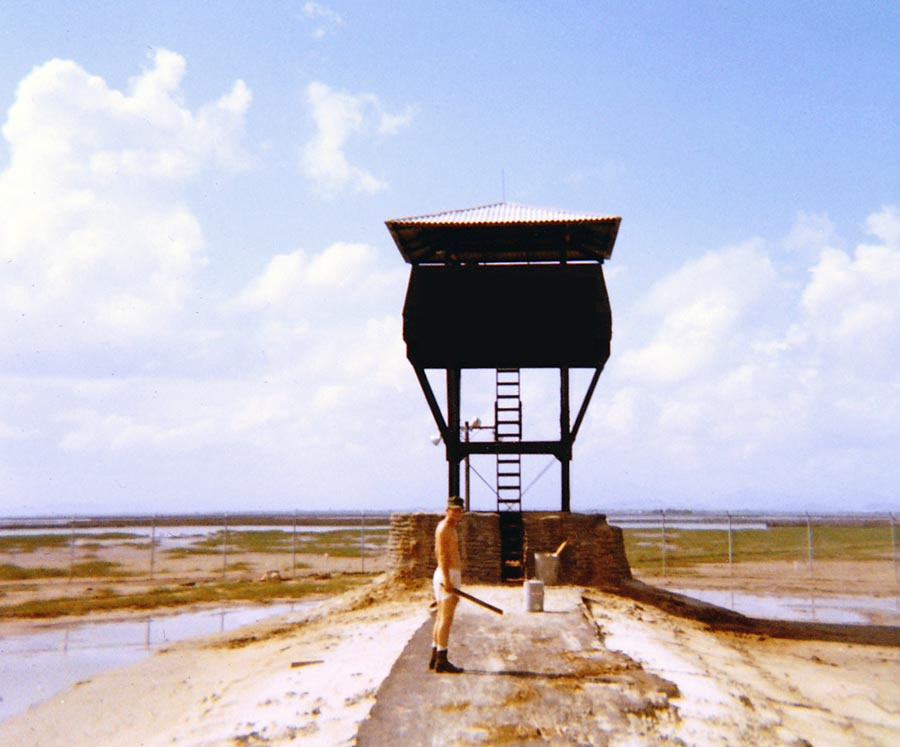 Camp Carroll: Sentry Tower.