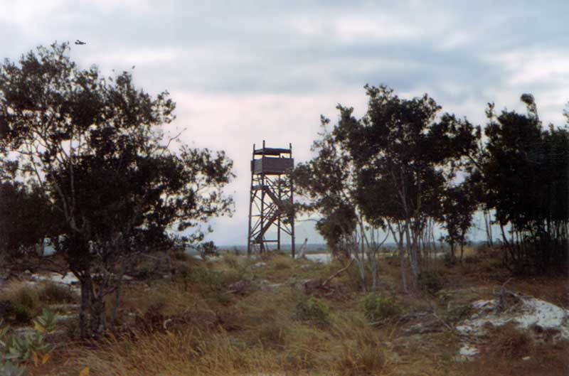 3a. Cam Ranh Bay AB. 12th SPS Tower, area of My CA Village. 1968-1969. Photo by: Bill Hawn.