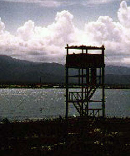 13. Bien Hoa AB, Tower Oscar-43. Photo by: David Dobson, LM 231, CRB, 12th TFW/483rd SPS. 1970-1971.