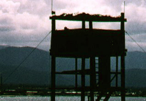 14. Bien Hoa AB, Tower Oscar-43. Close up. Photo by: David Dobson, LM 231, CRB, 12th TFW/483rd SPS. 1970-1971.