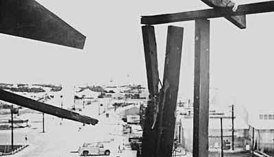 7. Cam Ranh Bay AB. Gate Tower view. 1970. Photo by: Jim Randall, LM 69, CRB, 483rd SPS, 1970.