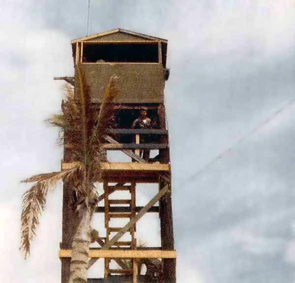 14. Cam Ranh Bay AB Tower. 1969-1970. Photo by: Tony Morris, LM 70, CRB, 12th SPS, 483rd SPS, 1969-1970.