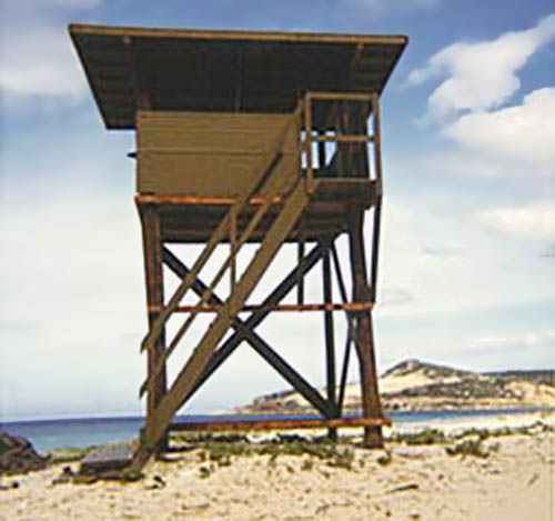15. Cam Ranh Bay AB Tower. 1969-1970. Photo by: Tony Morris, LM 70, CRB, 12th SPS, 483rd SPS, 1969-1970.
