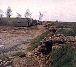 Đông Hà Air Field AB, Berm, Eastside of Compound