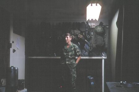 11. Đông Hà Air Field: Command Post.