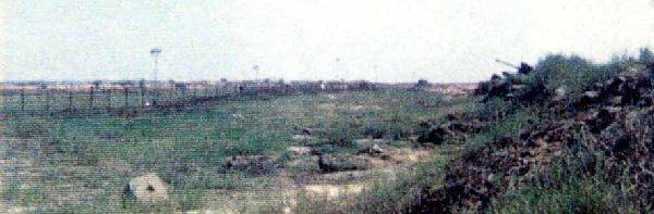 2. Đông Hà Air Field: Bunker-14 daylight view of perimeter. Photo by: Frank Lewicki, DET DH, 1/366th SPS, 1967-1968.
