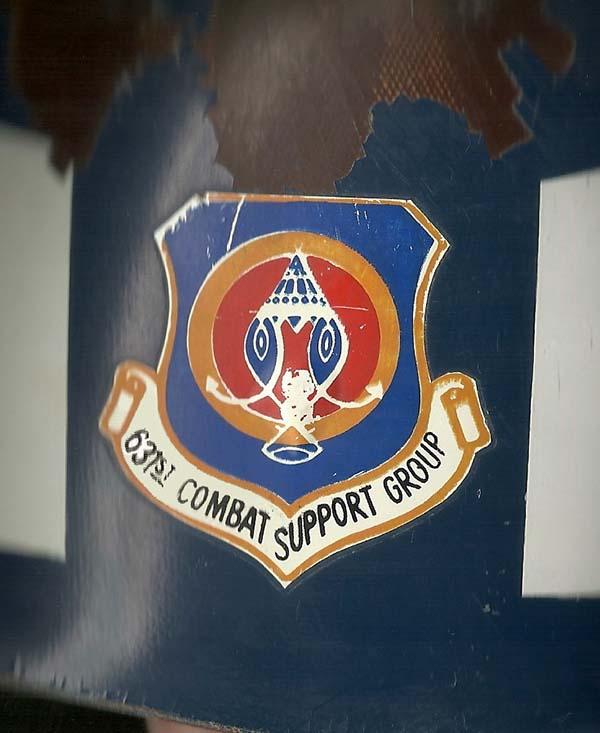 7. SP Helmet, 631st Combat Support Group (CSG).