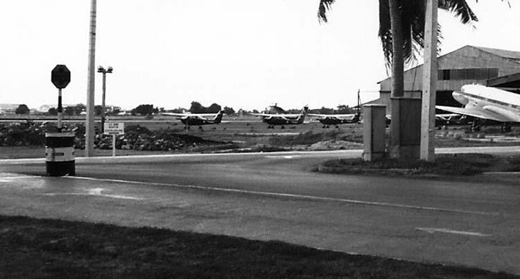 2. Don Muang Air Base, Thailand.