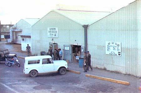 Da Nang AB, BX, liquor warehouse. c1968.