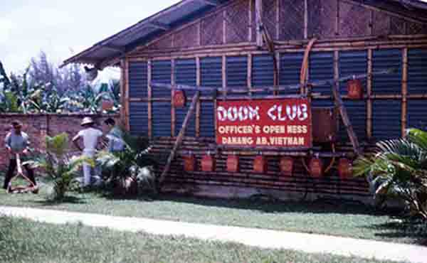 2.This is of the sign in front of the Officers Open Mess.I had BBQ'ed steaks with Walter Kronkite there once.