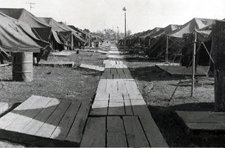 8. Da Nang AB, 35th APS, Tent City 1965.