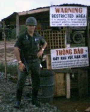 6. Da Nang AB, Bomb Dump and Ammo Dump. Control Post. Photo by: Don Poss, LM 37. K-9, 1965-1966.